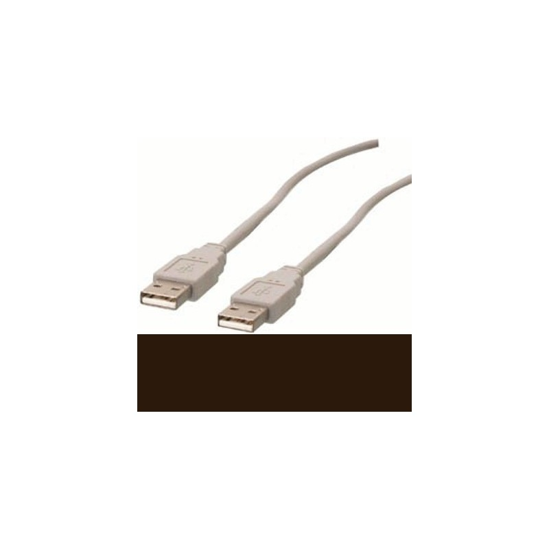 image: CABLE USB 1.1 A MALE - USB A MALE