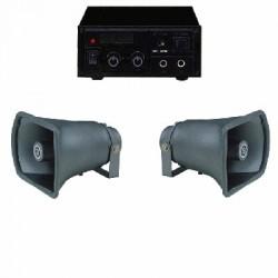 image: Amplificateur Public Adress 30 W 12Volt & 220V  Usage exterieur