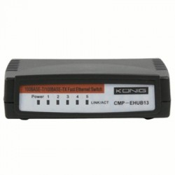image: Commutateur FAST ETHERNET 10/100MBPS