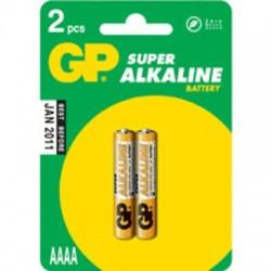 image: Piles LR61 / LR8 / Alcalines X2 / AAAA