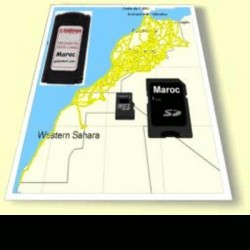 image: Carto & pistes 1 PAYS- Maroc Mauritanie Tunisie Lybie Algérie