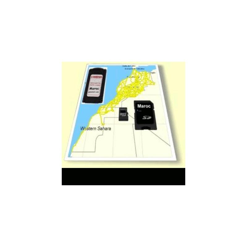 image: Carto & pistes 2 PAYS- Maroc Mautitanie Tunisie Lybie Algérie