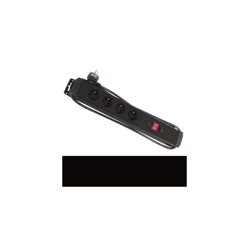 image: Bloc multiprises X4 avec protections