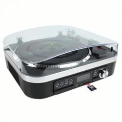 image: Platine Vinyl USB / PC avec Haut-Parleurs