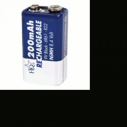 image: Pile Rechargeable NiMh 9V R22, 6F22