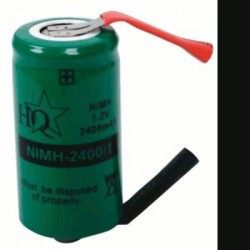 image: ACCU de remplacement NiMh 1.2V diametre 22 mm