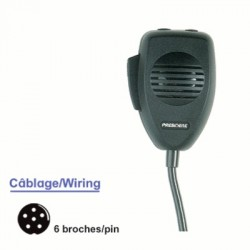 image: Micro de remplacement Origine Président DNC520 U/D 6 Br