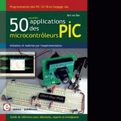 image: 50 applications des microcontrôleurs PIC