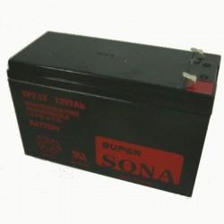image: Batterie ACIDE-PLOMB 12V-7.5Ah 151x65x99mm