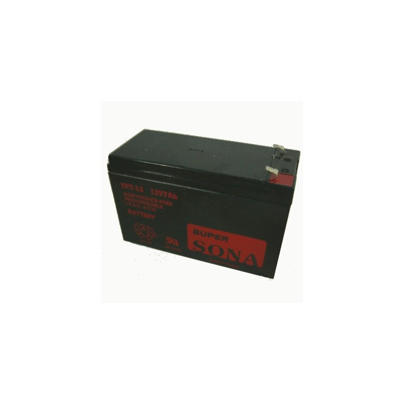 image: Batterie ACIDE-PLOMB 12V-7.5Ah 151x65x99mm