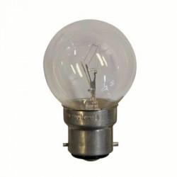 image: Lampe de couleur BLANCHE B22 25W pour guirlande