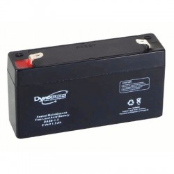 image: Batterie ACIDE-PLOMB 6V-1.3Ah 98x25x56mm
