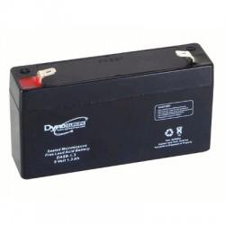 image: Batterie ACIDE-PLOMB 6V-1.3Ah 98x25x56mm