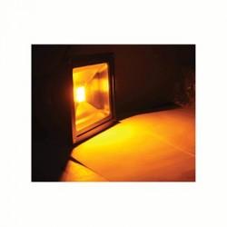 image: Projecteur LED 20W Couleur JAUNE étanche & alu