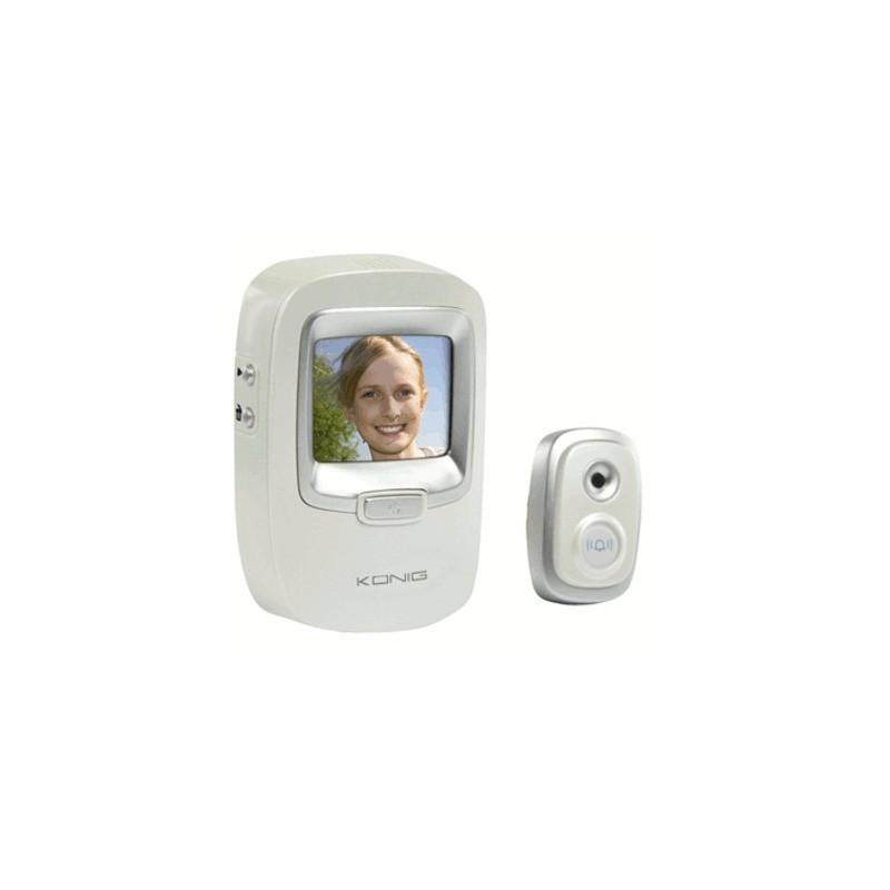 image: Caméra de judas de porte avec fonction Photo
