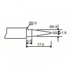 image: PANNE DE RECHANGE POINTE 1 pour VTSSC10N-20N-30N-40N