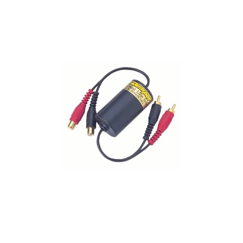 image: Isolateur de Mise à la Masse ; FILTRE ANTI-PARASITE AUDIO