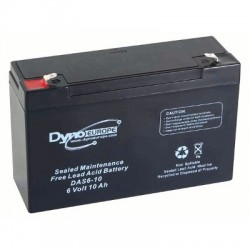 image: Batterie ACIDE-PLOMB 6V-10Ah 151x50x101mm