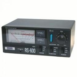 image: Tosmètre - Wattmètre  RS-600 MAAS  HF (CB) VHF, UHF