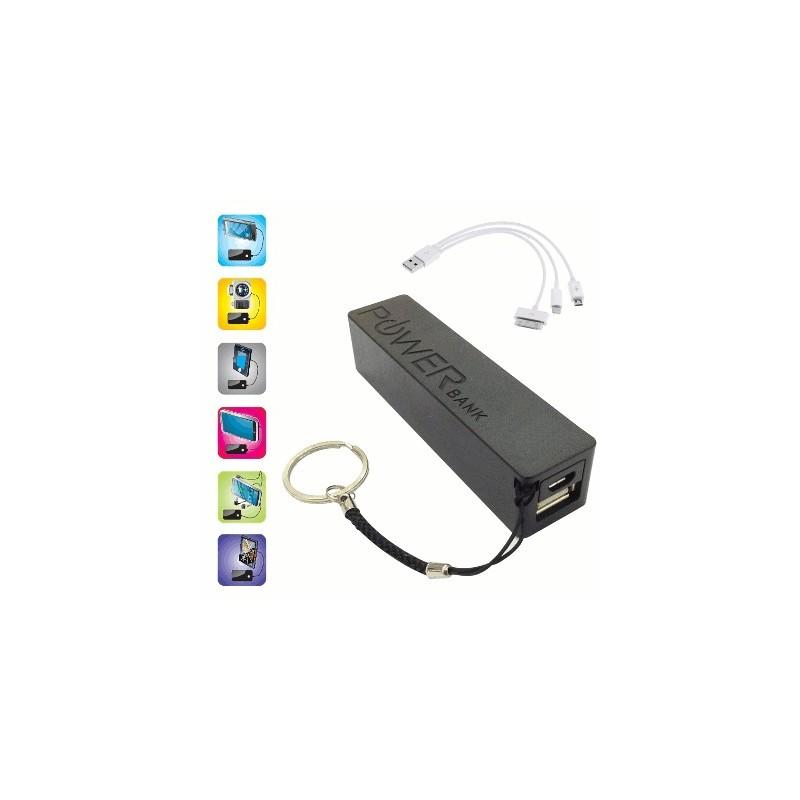 image: pack batterie / POWER BANK 2000 mAh NOIRE
