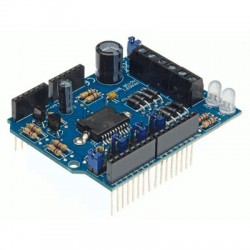image: ARDUINO® MOTOR & POWER SHIELD POUR ARDUINO® (à monter)