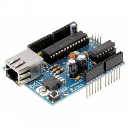 image: ARDUINO® ETHERNET SHIELD POUR ARDUINO® (à monter)