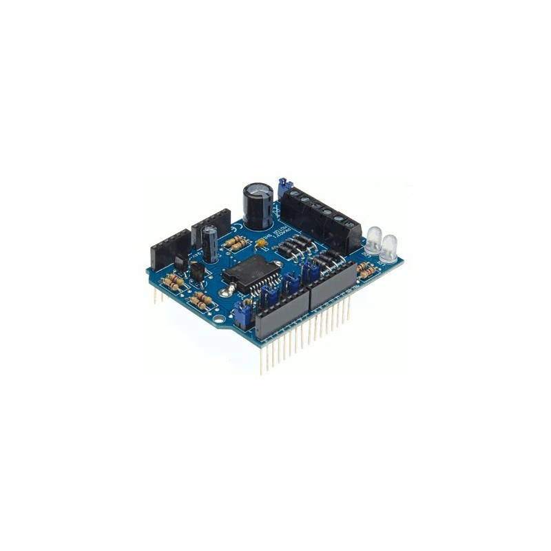 image: ARDUINO® MOTOR & POWER SHIELD POUR ARDUINO®
