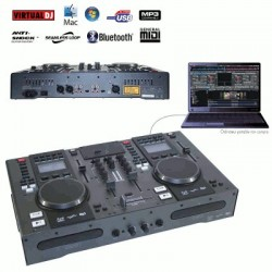 image: STATION DJ CD/MP3/USB/MIDI/BLUETOOTH