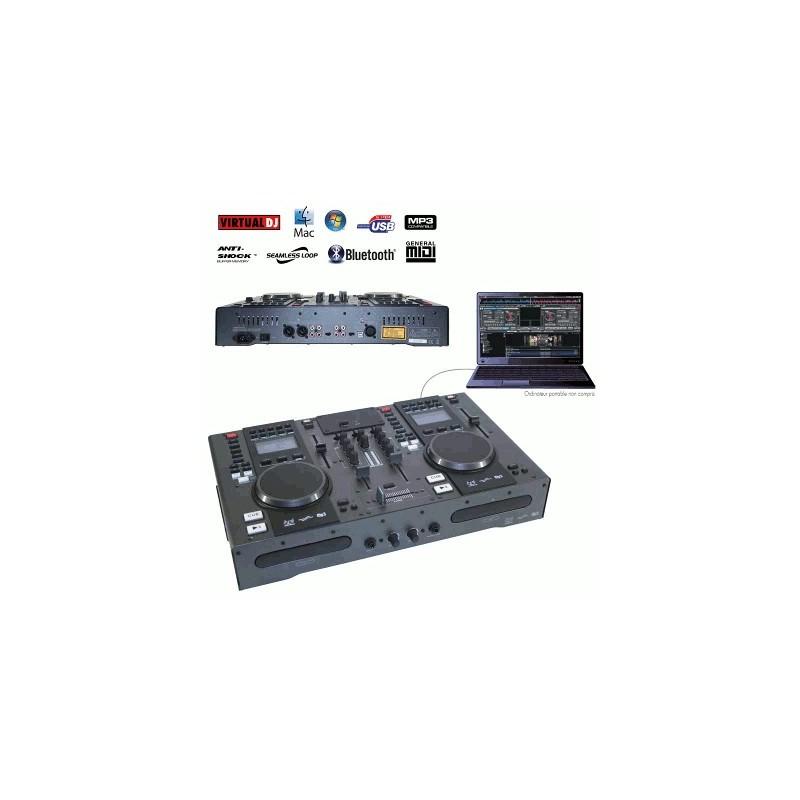 image: STATION DJ CD/MP3/USB/MIDI/BLUETOOTH