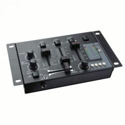 image: TABLE DE MIXAGE + LECTEUR USB MP3