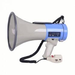 image: MEGAPHONE SIRENE + LECTEUR MP3 avec enregistreur de MSG & 12V