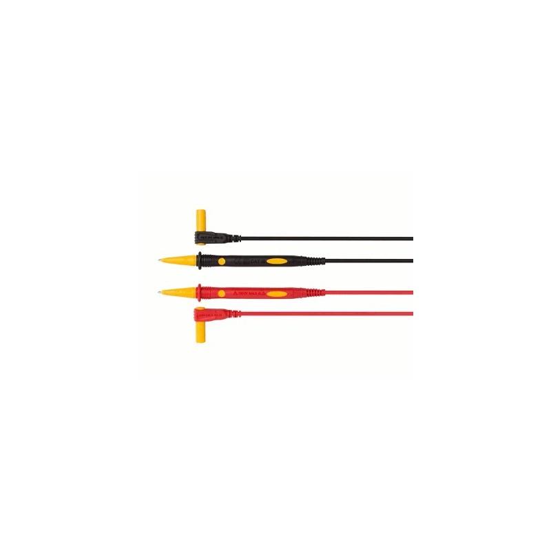 image: Cordons de mesure pour multimètre EN PVC CAT IV 600 V,15 A,75 cm