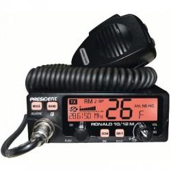 image: -CB Président RONALD AM/FM radio-amateur 10-12m