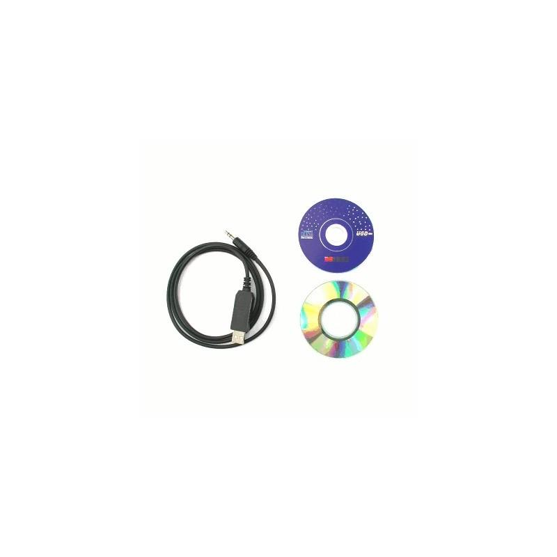 image: CÂBLE DE PROG. USB CRT 279 + CD DRIVER + CD SOFT