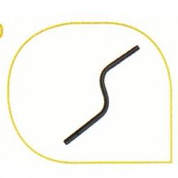 image: Canne en S pour GARRETT ACE tous modèle