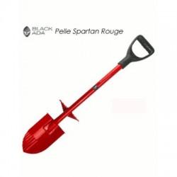 image: Pelle black ada à pieds Spartan rouge