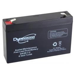 Batterie 6V-7.2Ah...