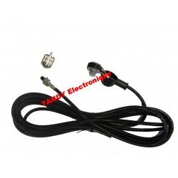 Cable pour embase type NE +...
