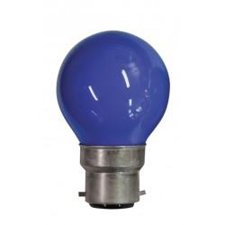 Lampe de couleur BLEU B22...