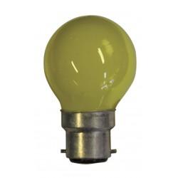 Lampe de couleur JAUNE B22...