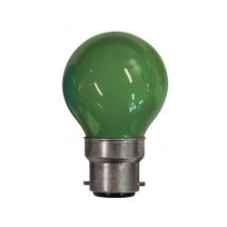 Lampe de couleur VERTE B22...