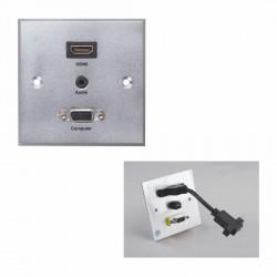 PLAQUE MURALE HDMI audio VGA