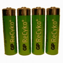 image: Pile Rechargeable X4 AA(LR6)- RECYKO+