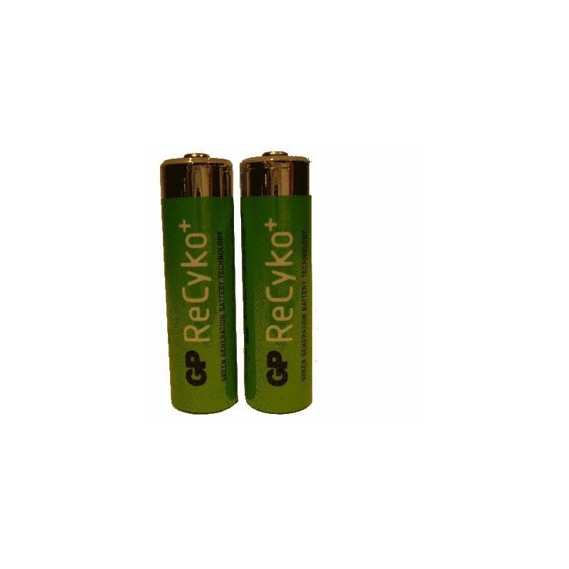 image: Pile Rechargeable X2 AA(LR6)- RECYKO+