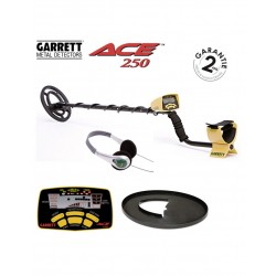 GARRETT ACE 250 + protege...