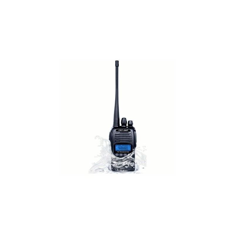 image: Talkie-walkie VHF  CRT 8WP étanche IP67