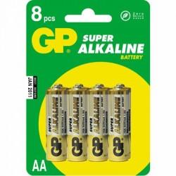 image: Piles LR06 Alcalines GP x4 - AA