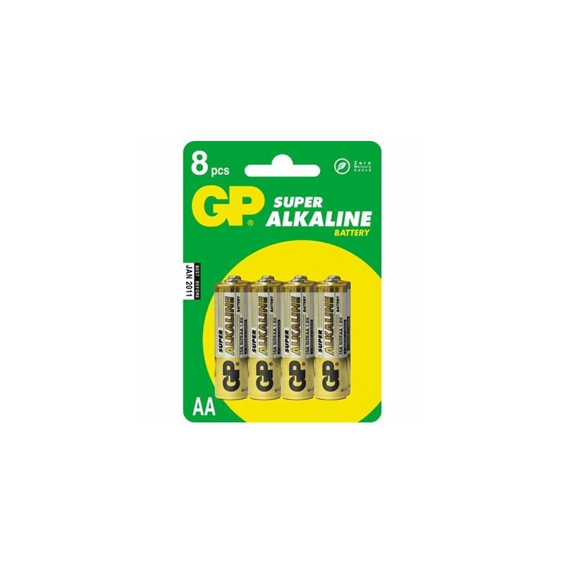 image: Piles LR03 Alcalines GP X4 - AAA