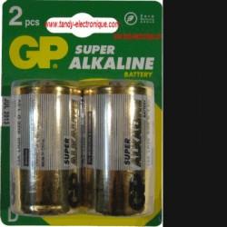 image: Piles LR20 alcalines GP  x2