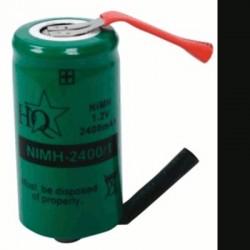 image: ACCU de remplacement NiMh 1.2V diametre 16.8 mm